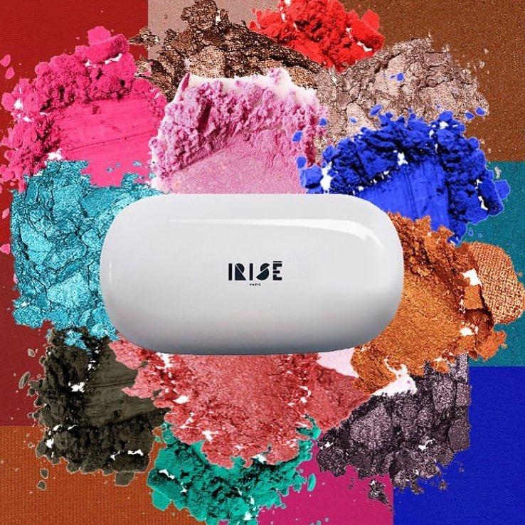 BeautyTech : Irisé Paris, la palette de maquillage modulable à l'infini